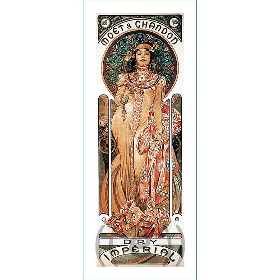 fabric panel - painting by Alphonse Mucha (26)
