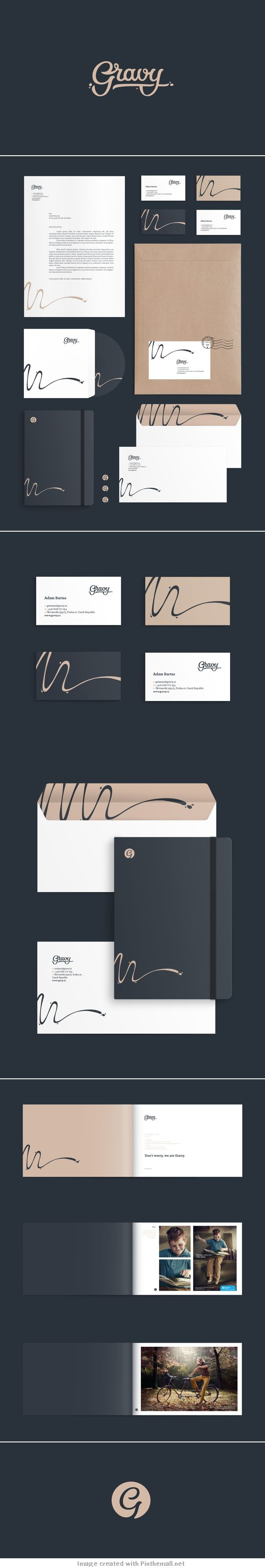 Unique Brand Identity Design on the Internet, Gravy Creative Studio #brandingdesign #brandidentity #identitydesign