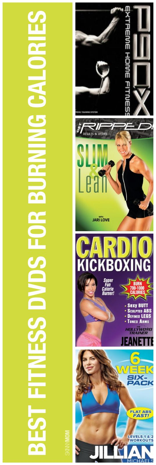 We've compiled some fitness DVDs that we love here at Skinny Mom just for you!
