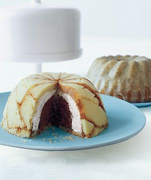 Zuccotto: It looks fancy, but this cake can actually be made in 25 minutes―without an oven or a stove.