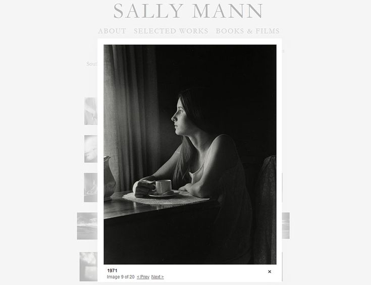 Sally Mann on Portrait Photography Masters - a Very Subjective List by Delicious Presets.    #portraitphotography #portraits #portraitphotographers