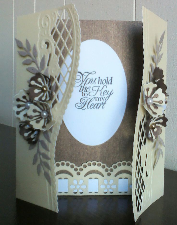 Card made with Marianne design dies