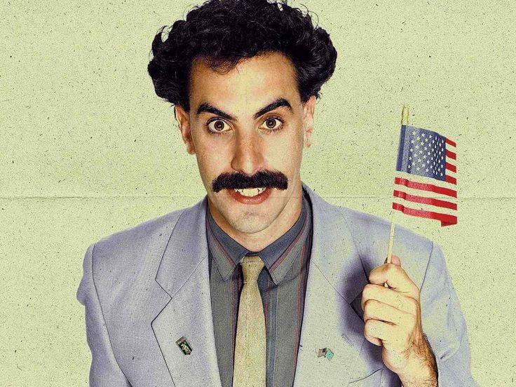 Sasha Baron Cohen as Borat (2006)