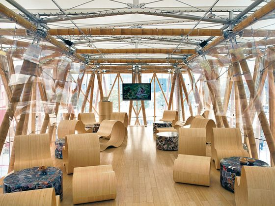 Bambuspavillon Expo Schanghai Markus Heinsdorff