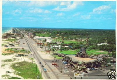 Jungleland and Front Beach Rd, Panama City Beach, Florida 1960's postcard by stevesobczuk, via Flickr