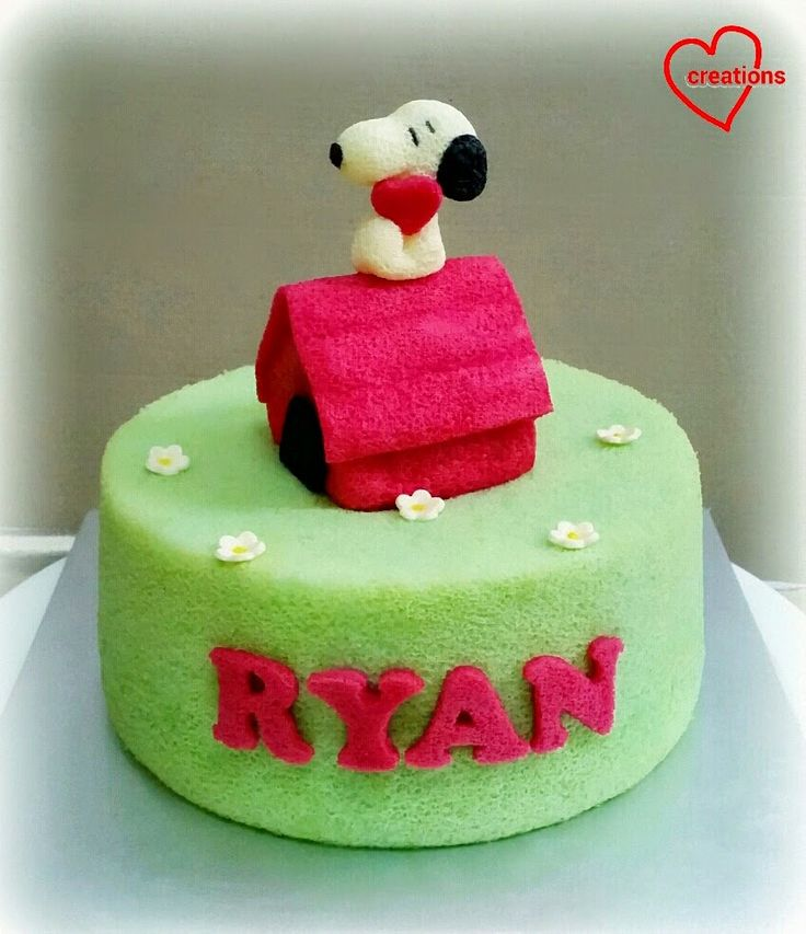 Loving Creations for You: Snoopy Chiffon Cake