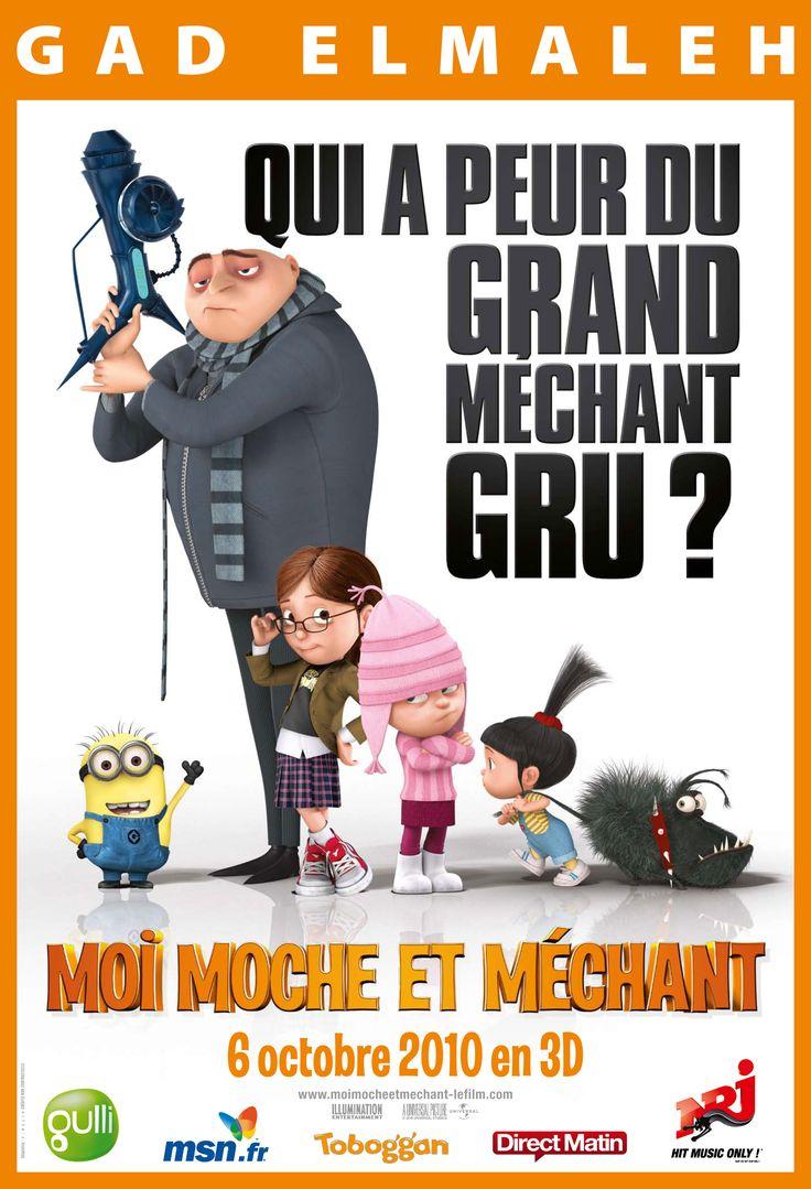 """Moi, moche et méchant """"Despicable me"""" (Chris Renaud et Pierre Coffin) 2010"""