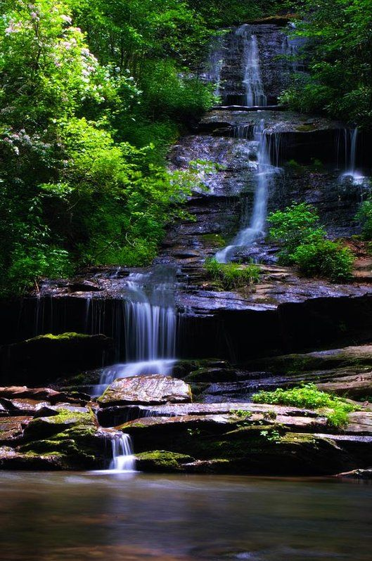 Tom Branch Falls Art Print by Dennis Nelson. All prints are professionally printed, packaged, and shipped within 3 - 4 business days. Choose from multiple sizes and hundreds of frame and mat options.