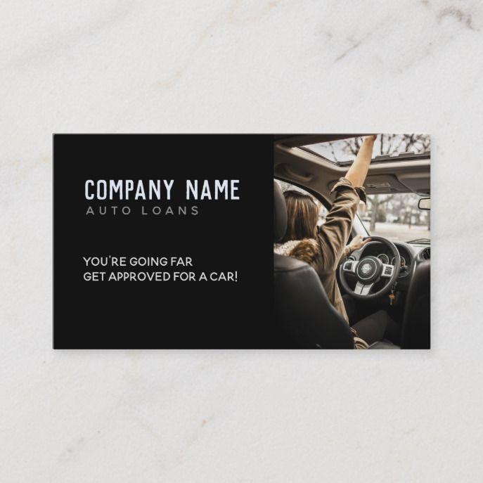 Auto Loans Slogans Business Card Zazzle Com In 2020 Car Loans Slogan Loan