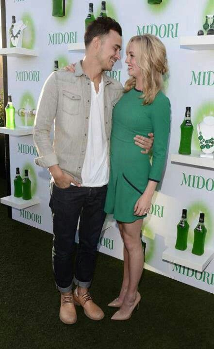 Joe King and Candice Accola <3 #loveisintheair