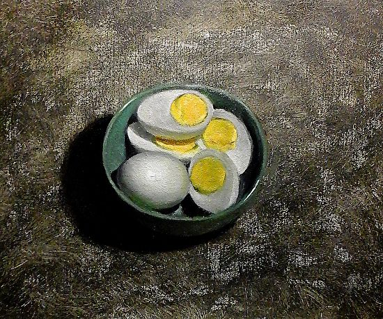 285 best art slow food images on pinterest slow food cheese still life with hard boiled eggs by natalia ivan clarke oil 11 x 14 ccuart Gallery
