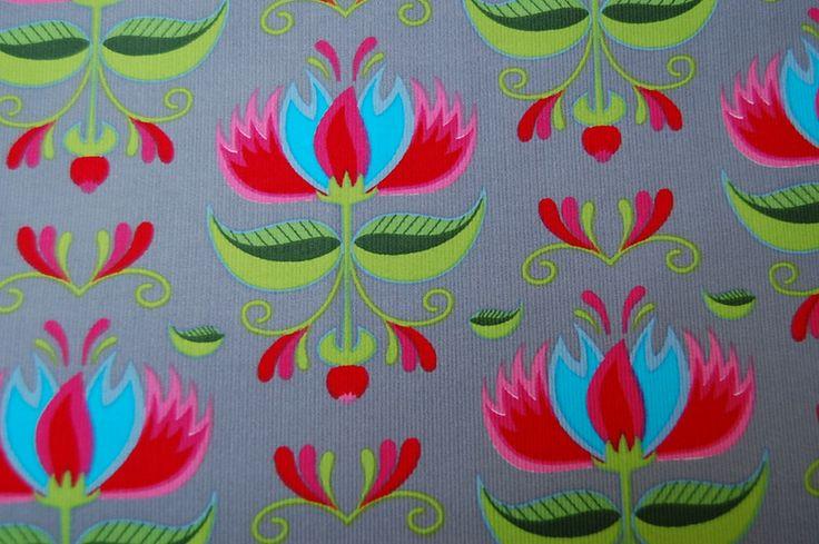 Stenzo Stoff Feincord gr. Blume 564 A von Wunschstoffe auf DaWanda.com