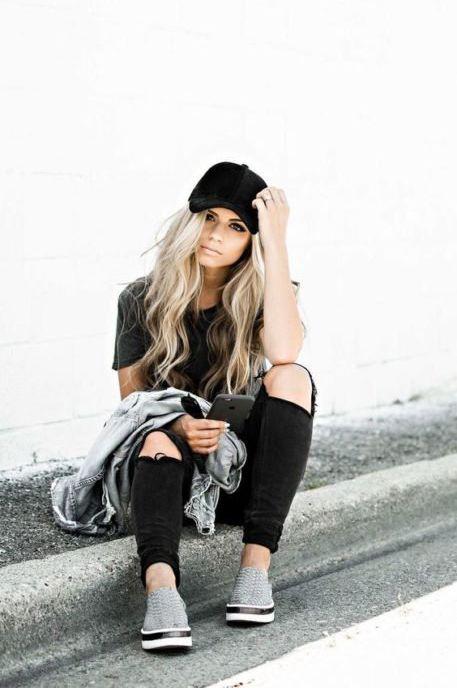 e1172c41e 25 Ideas para usar una gorra y darle un toque rebelde a tu look ...