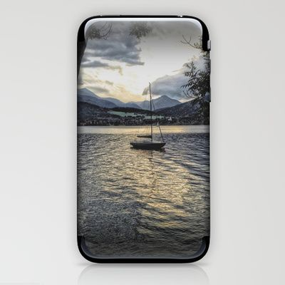 Misty Waters iPhone & iPod Skin by AngelEowyn. $15.00