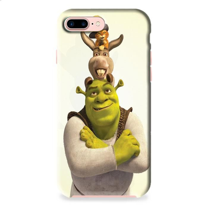 Shrek Donkey And Puss- iPhone 7 3D Case Dewantary