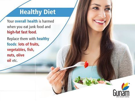 Your overall health is harmed when you eat junk food and high-fat fast food.Replace them with healthy foods: lots of fruits, vegetable, fish, nuts, olive oil etc. #GunamSuperSpecialityHospital #healthtips #Healthcare #doctors #HospitalinHosur #healthforall #healthyindia #healthydiet