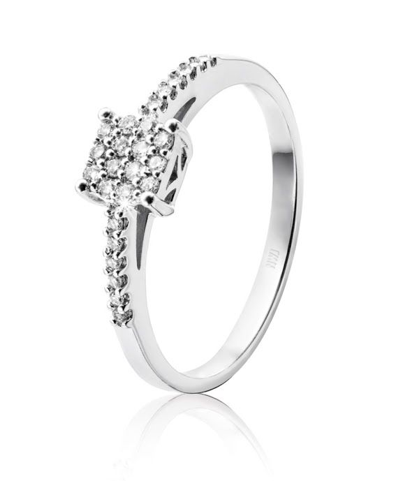9ct Gold Diamond Ring R3,998  *Prices Valid Until 25 Dec 2013