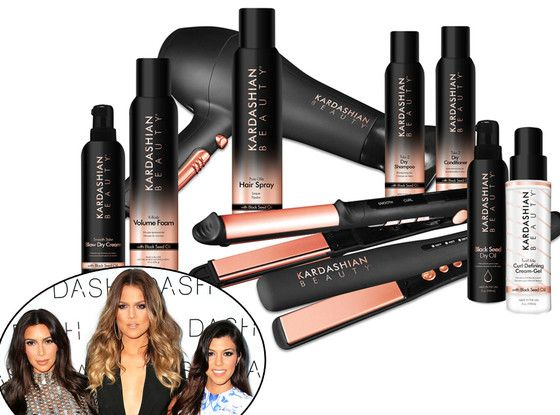 kardashian hair product line | The Kardashians continue their quests to conquer all realms of fashion ...