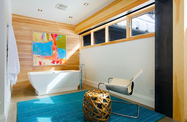 Log Cabin Goes Modern. #architecture #home #design #cabin #modern