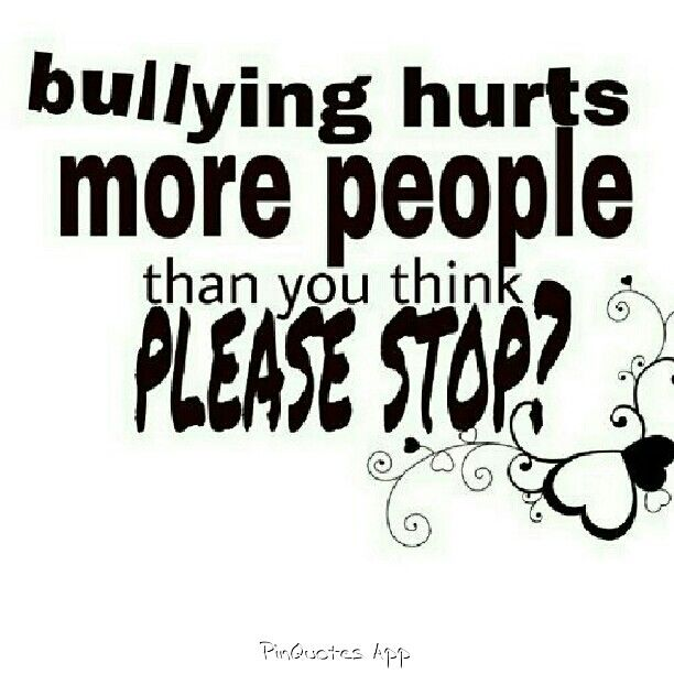 Bullying Quotes 62 Best Bullying Images On Pinterest  Bullying Quote And Anti .