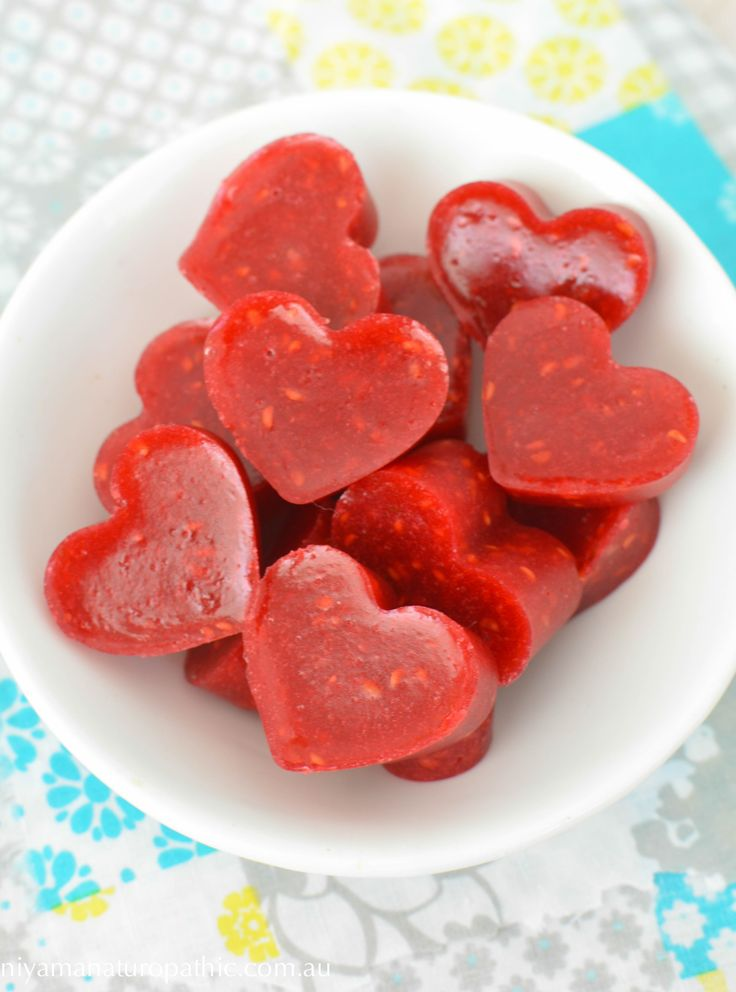 Raspberry and Lemon  Gummies - Protein rich candy for the kids made from grass fed gelatin