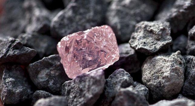10. Aquesta petita pedra rosa que esteu veient és en realitat un diamant, i està a la posició més alta de l'escala de mohs