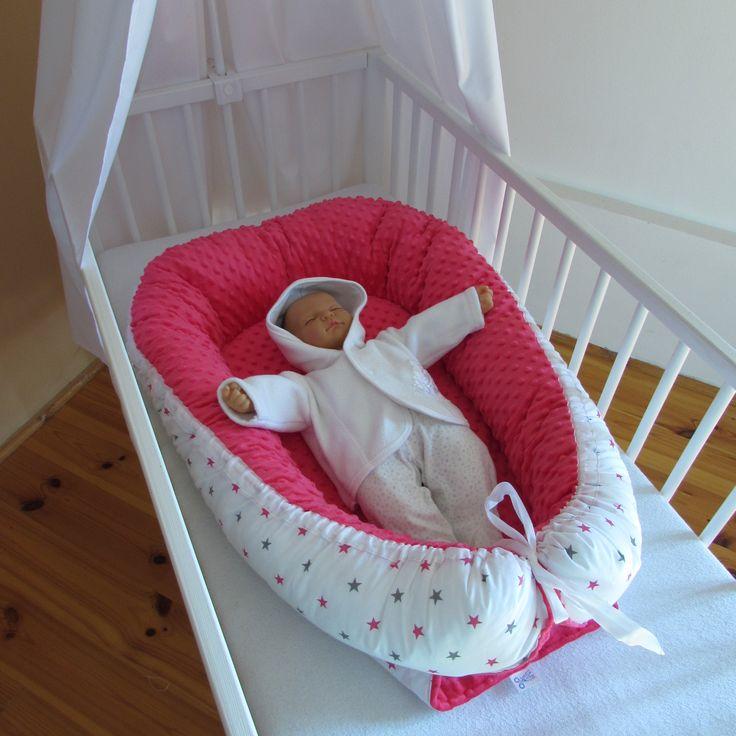 teplé hnízdečko pro miminka MINKY + BAVLNA