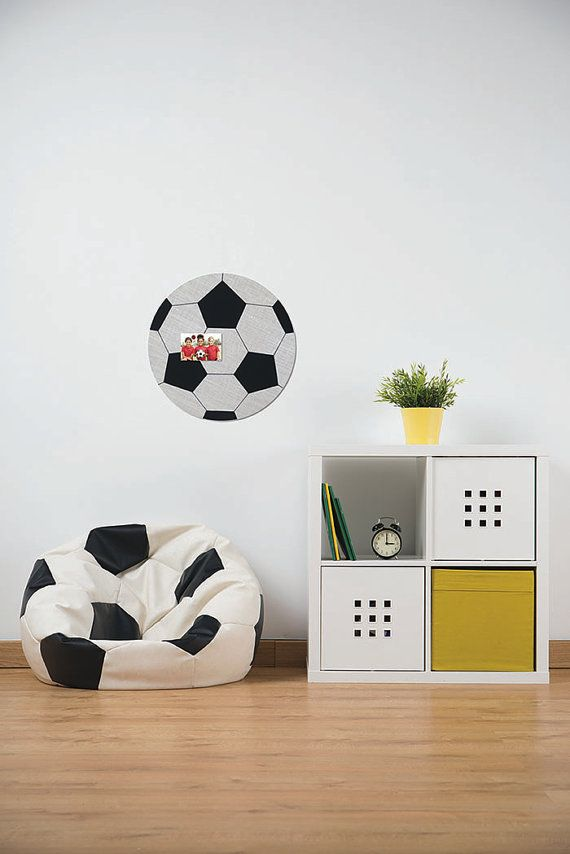 Soccer Bulletin Board with Personalization Options by OfWallThings