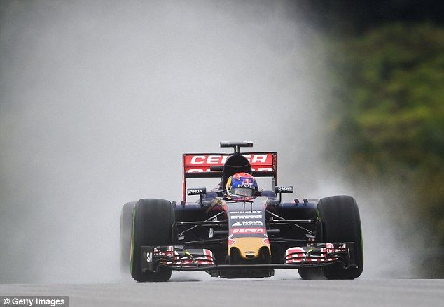 Max Verstappen impressed in difficult conditions to qualify sixth for Sunday's Malaysian G...