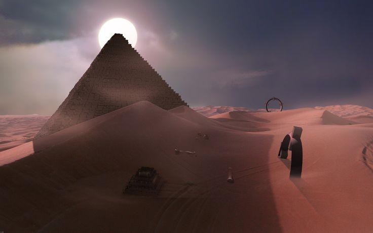 Unseen Desert Night #Background | Deserts, Hd wallpaper ...