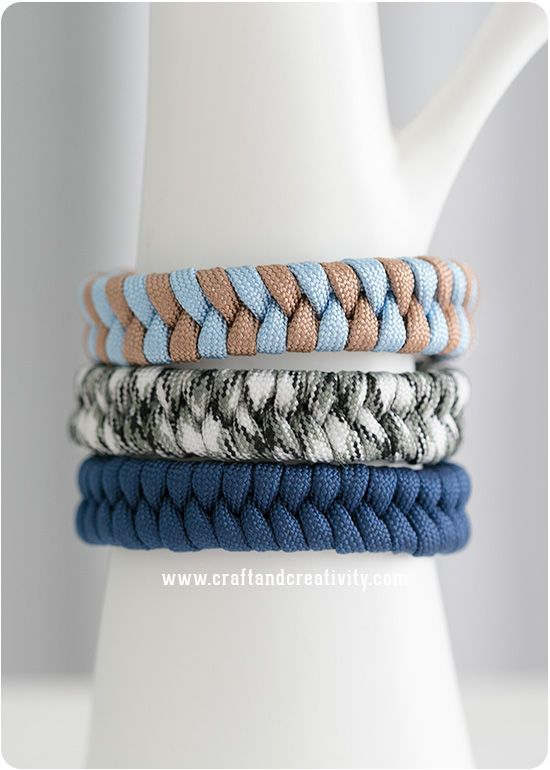 Fiskbensarmband – Fishtail Paracord Bracelet