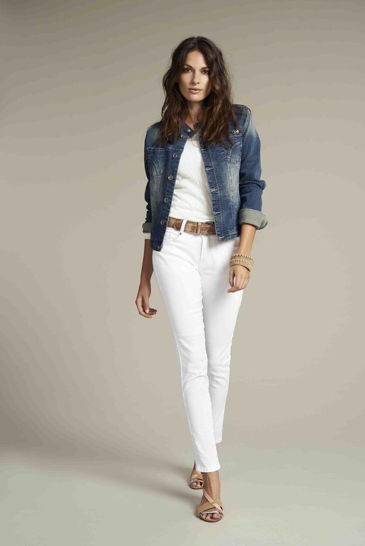 Soyaconcept - denim jacket - top - pants - jeans - belt