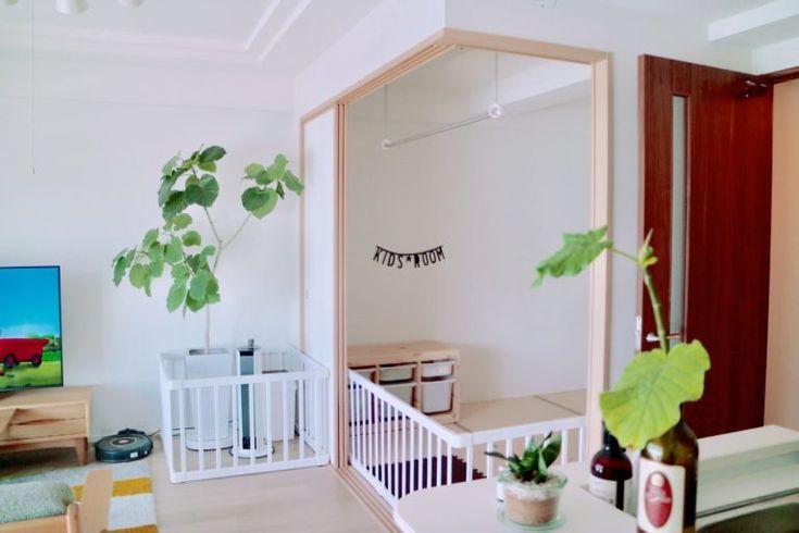 中和室の使い方 マンションのリビング横はキッズ部屋に最適 Moko Home モコホーム リビング ベビースペース 赤ちゃん 部屋 レイアウト リビング 赤ちゃんスペース