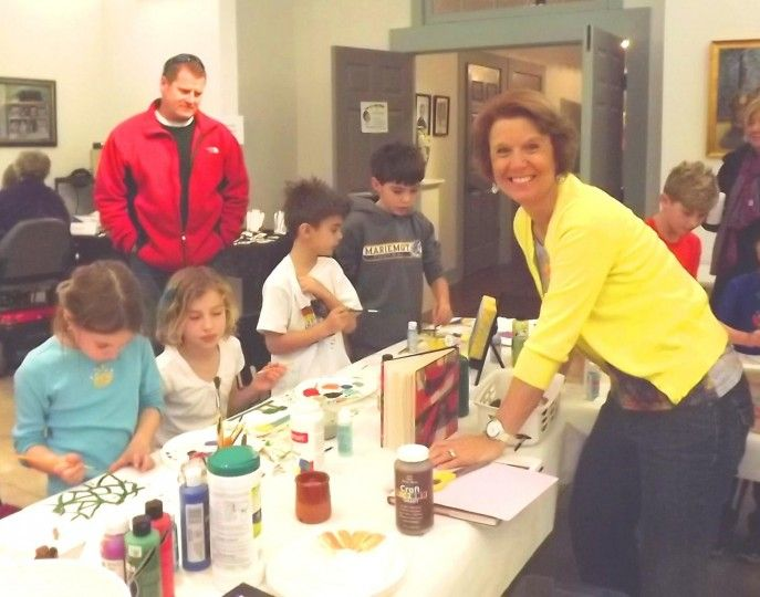 After school art for kids at the barn session 2 cincinnati for Craft shows in cincinnati