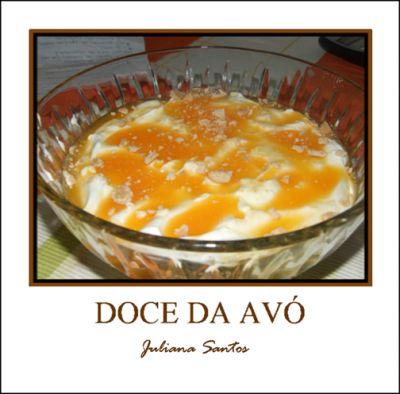 Portuguese sweet rice pudding Receitas - Doce da Avó - Petiscos.com