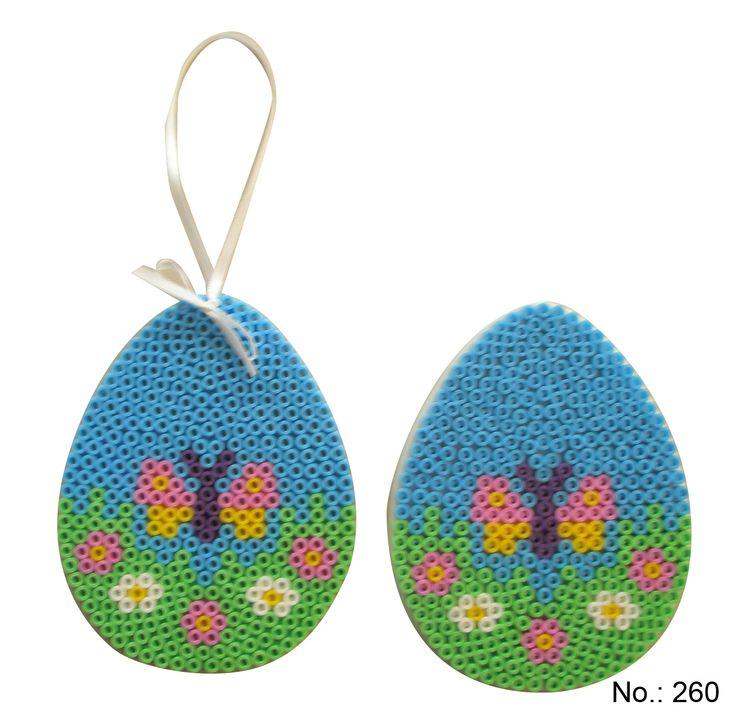 Easter Egg Hama perler pattern