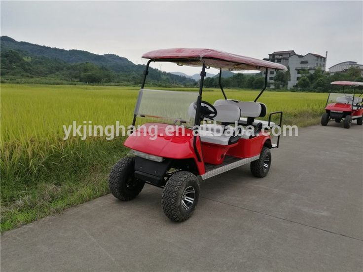 4 seater gasoline off road hunting golf cart /go karts with low price