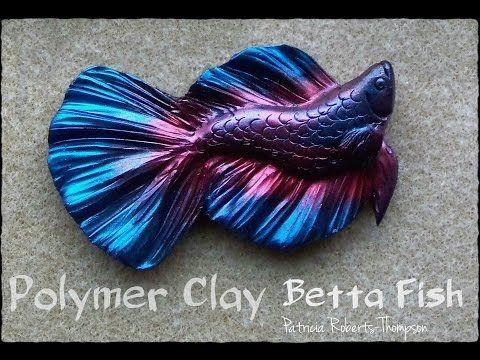Polymer Clay Betta Fish - YouTube
