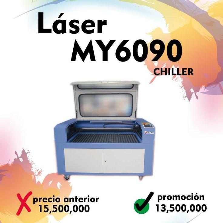 Maquina Láser MY6090 Chiller