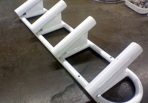 Powder Coated Fishing Rod Holders for Boat