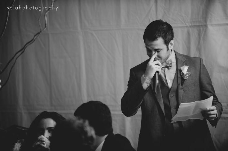 """It's ok for the #bestman to shed a few tears during his speech. Check out the 7 other """"Golden Rules of Toast"""" on the blog http://groomsadvice.com/2013/09/04/8-steps-to-a-winning-best-man-toast/"""