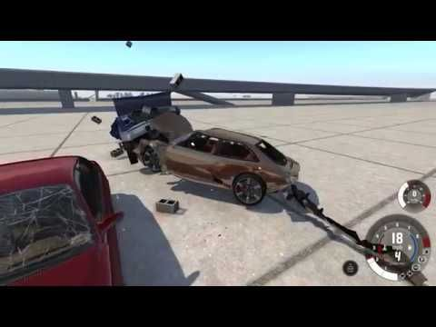 The game has a terrible name but BeamNG.drive's damage model is spectacular.