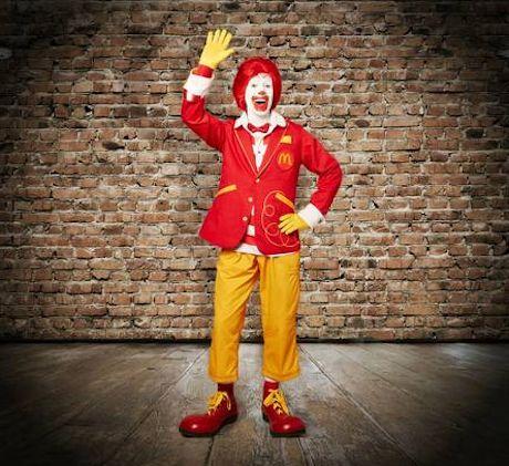 Ronald McDonald cambia de look