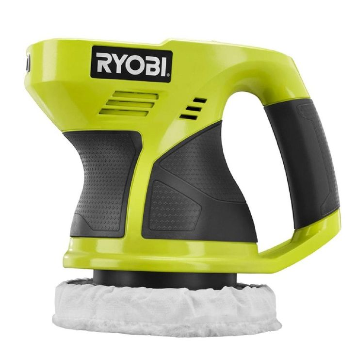 Ryobi ONE  18-Volt 6 in. Buffer (Tool-Only)-P430G - The Home Depot
