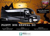 Party Bus Rental Halloween  | Piktochart Infographic Editor