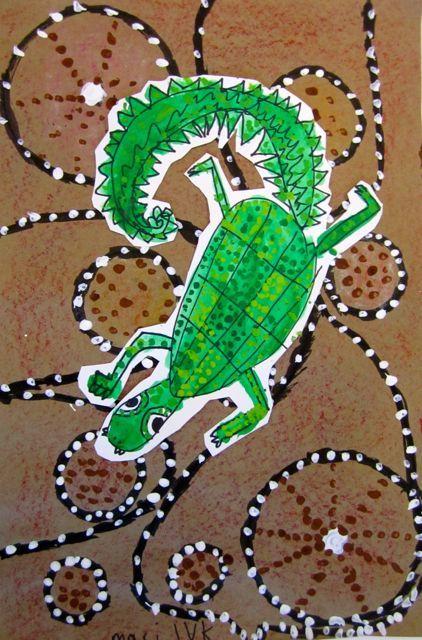 » Australian Baru Crocodiles Georgetown Elementary Art Blog