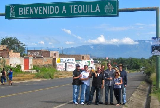 The Tres Team in the town of Tequila!