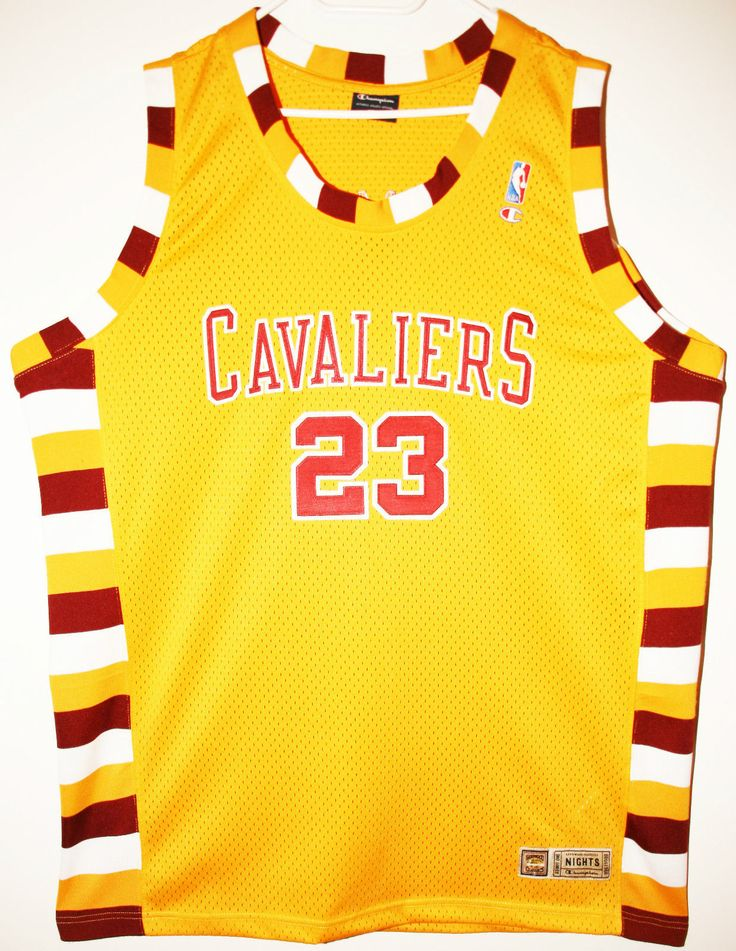 Champion NBA Basketball Cleveland Cavaliers #23 LeBron James Trikot/Jersey Size 52 - Größe XXL - 129,90€ #nba #basketball #trikot #jersey #ebay #sport #fitness #fanartikel #merchandise #usa #america #fashion #mode #collectable #memorabilia #allbigeverything