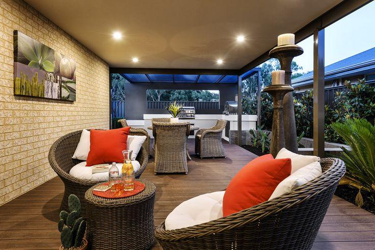 Alfresco - Aspire Display Home - Homebuyers Centre - Aveley, WA Australia