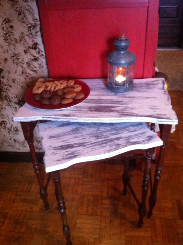 Nesting tables I distressed